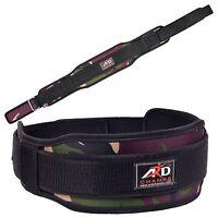 Ard Champs™ Neoprene Weight Lifting Belt Back Support Belt 5 Wide Green Camo