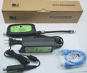 1 OR 2 PACK DIRECTV DECA BROADBAND CINEMA ON DEMAND ETHERNET TO COAX ADAPTERS
