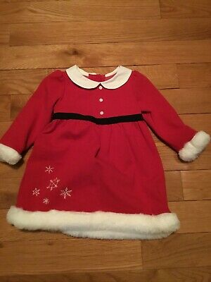 Children Clothes Girls Gymboree Christmas Dress And Bloomers 12 18 Months Ebay