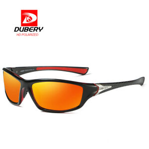 42e117db00 Image is loading DUBERY-Men-Polarized-Sunglasses-Classic-Outdoor-Fishing- Sport-