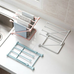 Foldable-Kitchen-Sponge-Storage-Racks-Bathroom-Towels-Drain-Racks-Home-Supply-HT