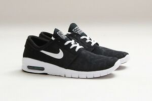 low priced 4becd d883f Image is loading Nike-SB-Stefan-Janoski-Max-Black-White-Quickstrike-