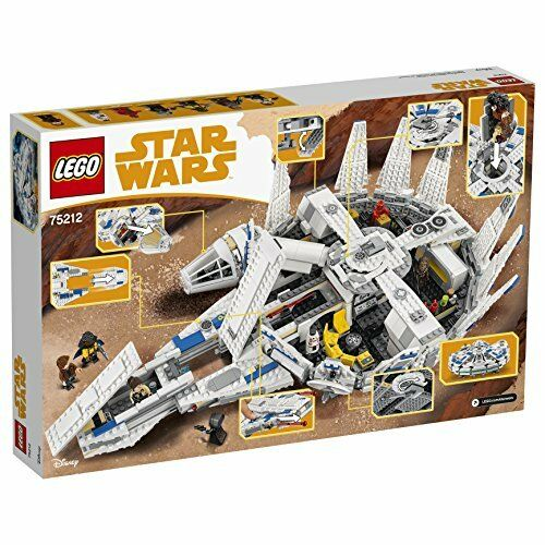 LEGO Star Star Star Wars Kessel Run Millennium Falcon 75212 Star Wars Spielzeug 3d6f90