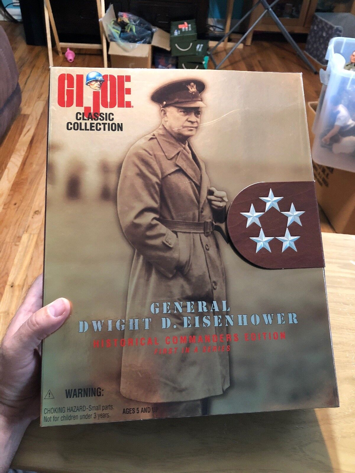 Hasbro General Dwight D. Eisenhower Action Figure Figure Figure 3b13cf