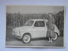 Vecchia fotografia FIAT 600 auto automobile car