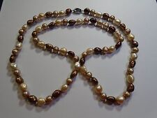 Honora Freshwater Cultured Pearl Graduated natural Necklace             Lot 1508