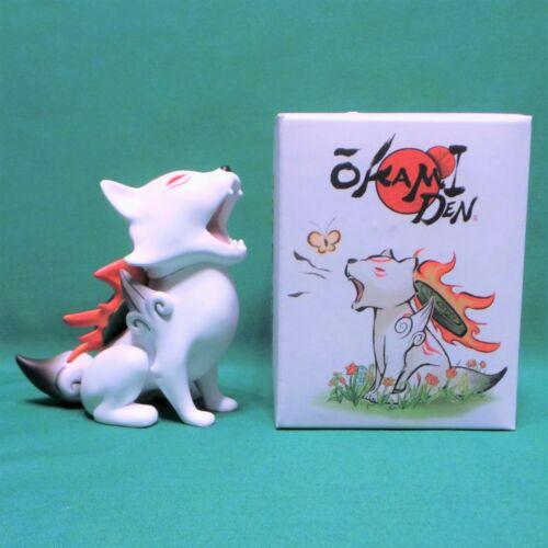Okamiden Chibiterasu Wolf Vinyl Figure NEW IN BOX Loot Gaming Crate Exclusive Okami Den
