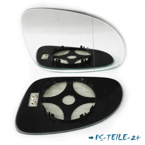Spiegelglas für VW PASSAT B6 2005-2010 rechts asphärisch beheizbar elektrisch