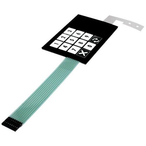 Dresser Wayne Ovation Membrane Keypad Preset 887862-050 Fuel