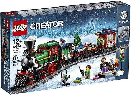 Lego Creator Expert 10254 Le train de Noël