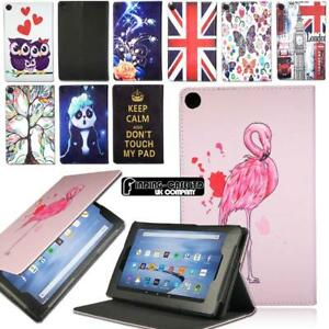 sports shoes 8d274 ab197 Details about Smart Leather Stand Cover Case For Amazon Kindle Fire 7/HD  8/HD 10 Alexa Tablet