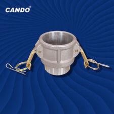 Candob 075 34 Camlock Coupling Cam And Groove Aluminum Trash Pump Adapter
