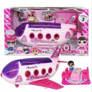 LOL-Surprise-Girl-Doll-Park-House-Game-Slide-Playset-Bebe-Enfants-Cadeau-Jouet