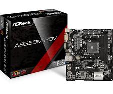 ASRock AB350M-HDV - mATX Motherboard for AMD Socket AM4 CPUs