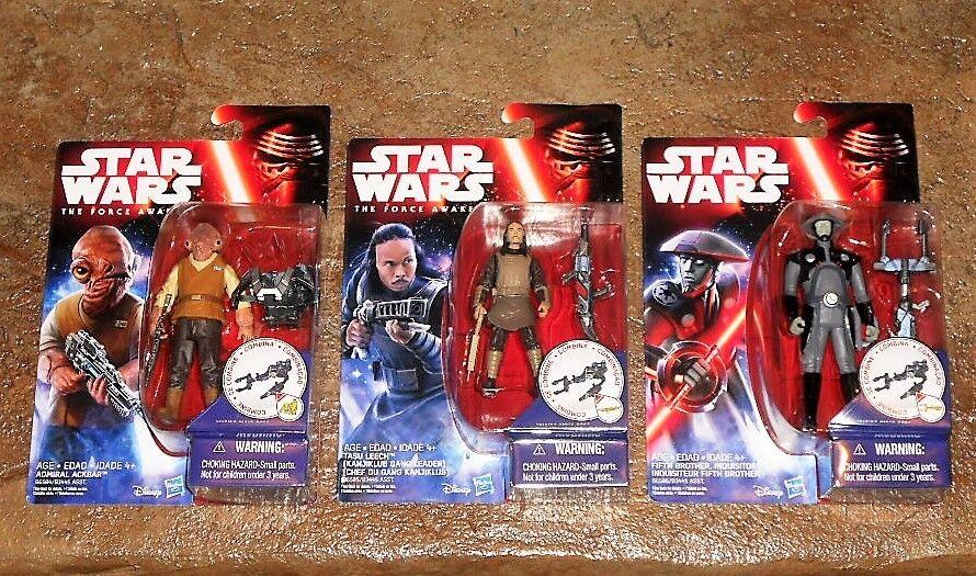 Star Wars The Force Awakens FIFTH BROTHER INQUISITOR Tasu Leech ADMIRAL ACKBAR