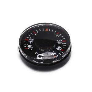 Plastique-noir-thermometre-rond-outil-de-capteur-de-temperature-pointeur