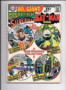 World-039-s-Finest-161-80-page-giant-October-1966-Superman-Batman
