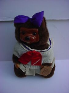 Robert Raikes Signed Lucy Beavers Timber Creek Collection 1988 New In Box