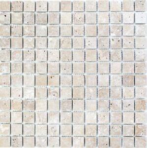 Détails sur Mosaïque Carreau travertin pierre naturelle Noyer Cuisine Salle  de Bain Mur 43-44023_b | 1 de coffre- afficher le titre d\'origine