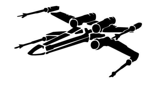 Alto detalle Star Wars X Ala Fighter aerógrafo de plantilla libre UK FRANQUEO