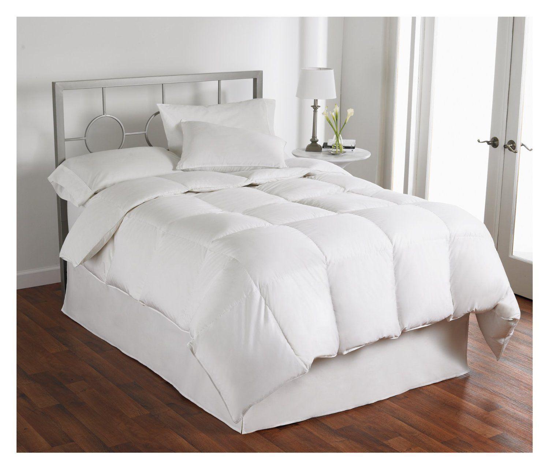 New Hollander White Down Comforter AAFA Asthma Allergy Friendly Full Queen  1000