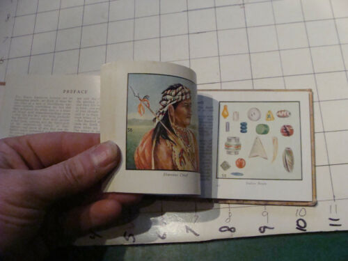 vintage book: INDIANS of AMERICA 94 color pictures, 96 pages