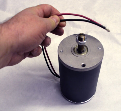 generator 2999 RPM 12mm shaft 1 hp 48 volt electric permanent magnet DC motor