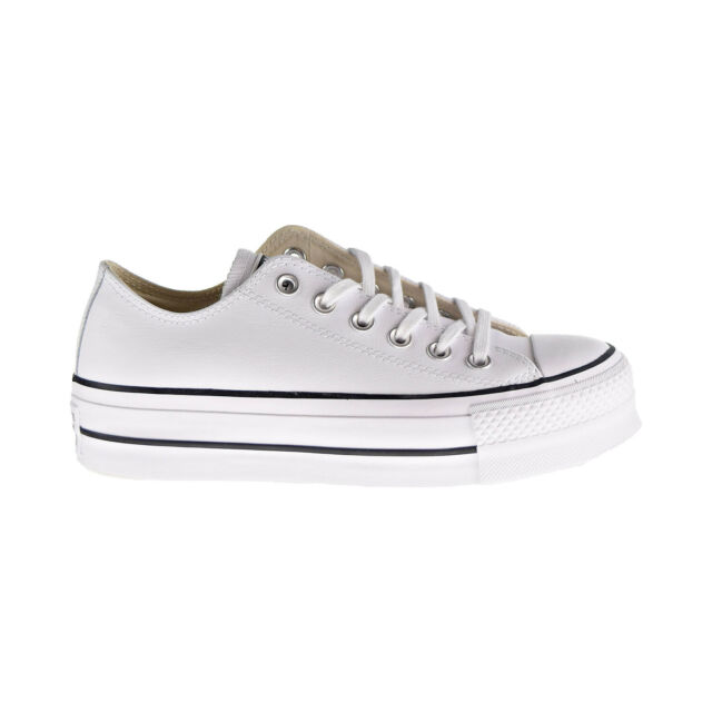 white chuck taylor all star lift platform sneakers