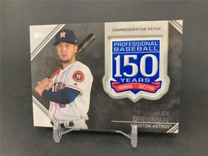 Details about 2019 TOPPS SERIES ONE ALEX BREGMAN 150TH ANNIVERSARY COMMEMORATIVE PATCH ASTROS