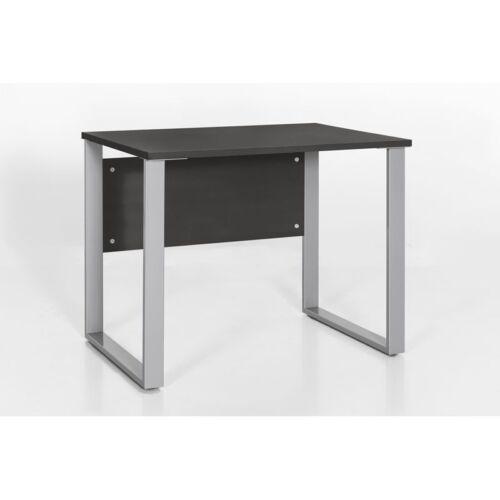 Büro Schreibtisch 90cm anthrazit Bürotisch Arbeitstisch Computertisch Büromöbel