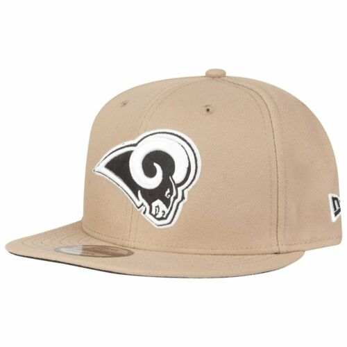 NFL Los Angeles Rams camel beige New Era Snapback Cap