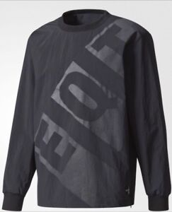 cfb21d048bb8 Image is loading Adidas-Mens-EQT-Nylon-Crew-Pull-Over-Jacket-