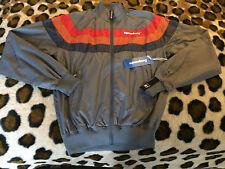 New Supremebeing Wind breaker Jacket mens sz XS gray red orange blue