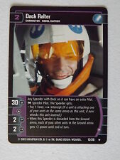 Star Wars TCG - ESB -  Dack Ralter (A) 12/210  NM/Mint