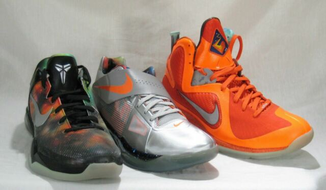 new style 937d7 29f26 Nike Air Max Lebron XI KD 4 Zoom Kobe VII 7 Galaxy All-star Big Bang Lot Sz  14 for sale online   eBay