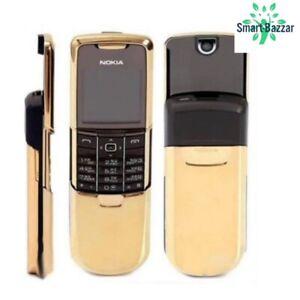 NW zustand Nokia 8800 Gold (entsperrt) Handy +12 Monaten Garantie