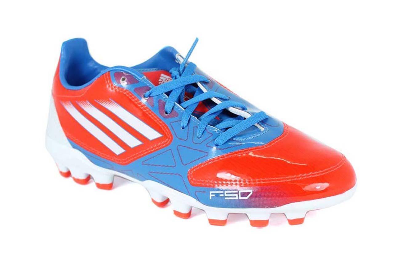 Adidas F10TRX Ag J [ Erl 35 13 38 23 ] Scarpe da Calcio Prossoator F50 Nuovo &