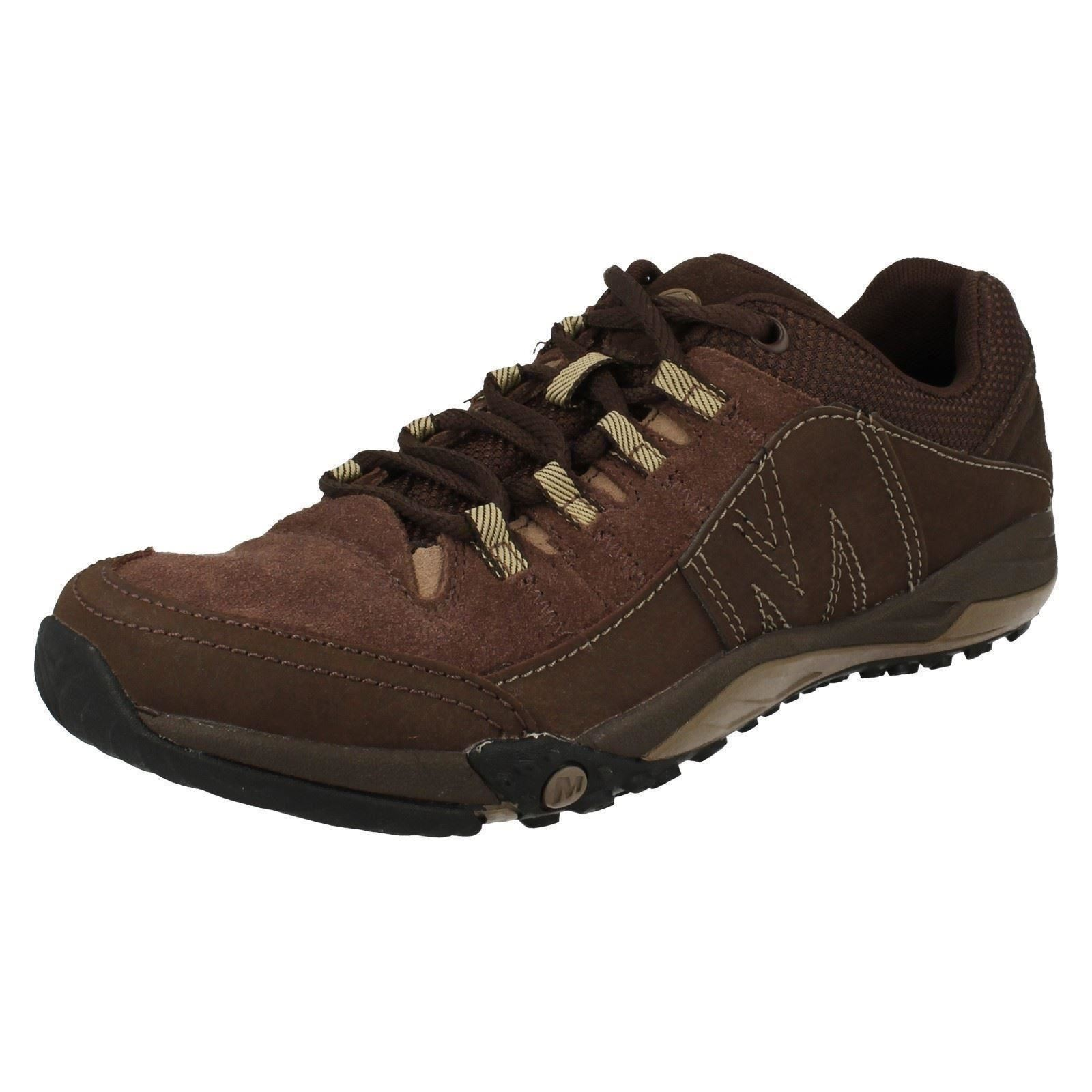 Mens Merrell Helixer Evo Clay Brown Suede Leather Casual Walking/Hiking Shoes