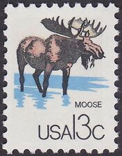 US - 1978 - 13 Cents CAPEX Philatelic Exhibition Moose Issue #1757e Mint F-VF
