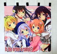 Gochuumon wa Usagi Desu ka? Anime japanische Gardine Tür-Vorhang 90x90cm