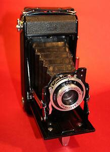 ZEISS IKON VARIO Nettar 515/2 Novar-Anastigmat 1:6,3 f=105mm Klappkamera Tasche