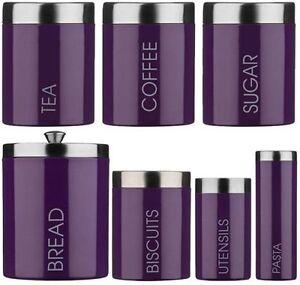 Sucre-cafe-the-violet-pain-biscuit-ustensile-bombonnes-de-stockage-de-pates-pots-set