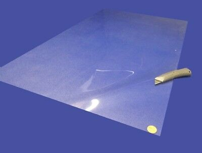 "20 Mil Acetate Clear Polished Sheet Thick x 42/"" x 4 Foot Roll .020/"""