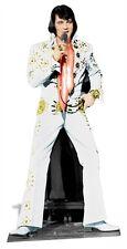 Elvis Presley The King Vegas White Suit Cardboard Fun Cutout/Figure 178cm Tall