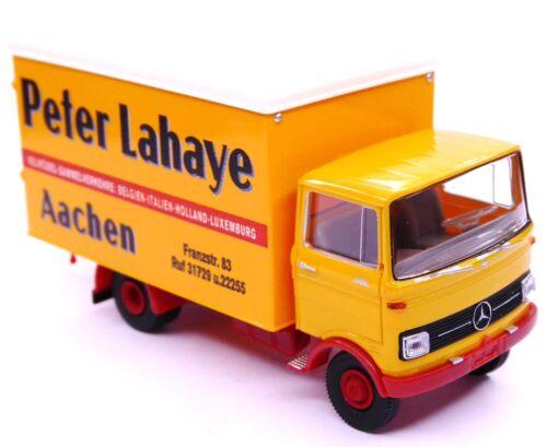 H0 BREKINA MB LP 608 Koffer Peter Lahaye Aachen Neumöbel Sammelverkehre # 48552