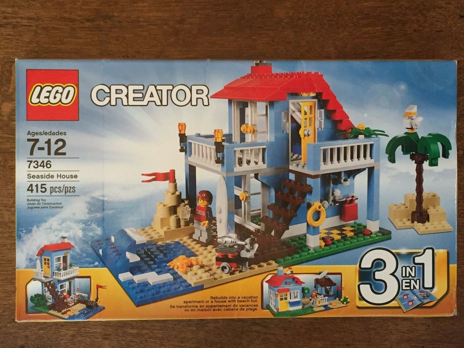 NEW LEGO Creator 7346 Seaside House FREE SHIPPING
