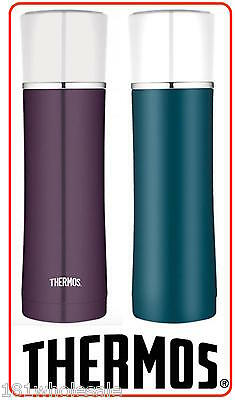 ❤ NEW SIPP THERMOS VACUUM INSULATED DRINK BOTTLE 470ml Tumbler Flask TEAL PLUM ❤