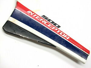 1985-HONDA-85-VF500-VF-500-VF500F-INTERCEPTOR-LEFT-FRAME-PLASTIC-SIDE-COVER