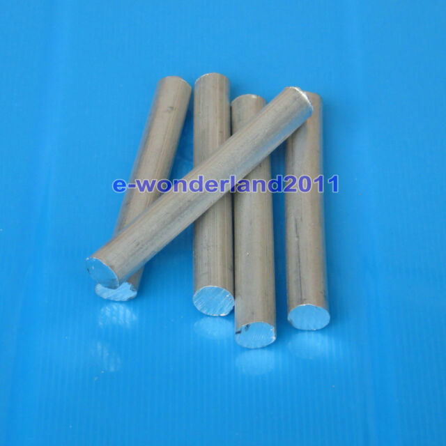 "5x Magnesium Element Metal Rod Ingot - High Purity  99.95% - 2.4"" long x 0.3"""