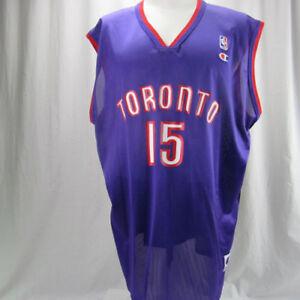 Vince-Carter-Toronto-Raptors-used-Champion-mens-size-52-2xL-NBA-jersey-vintage
